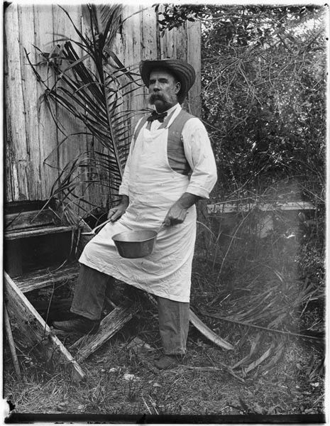 Charles Peacock. Photo by Ralph Munroe. (Courtesy of HistoryMiami Museum)
