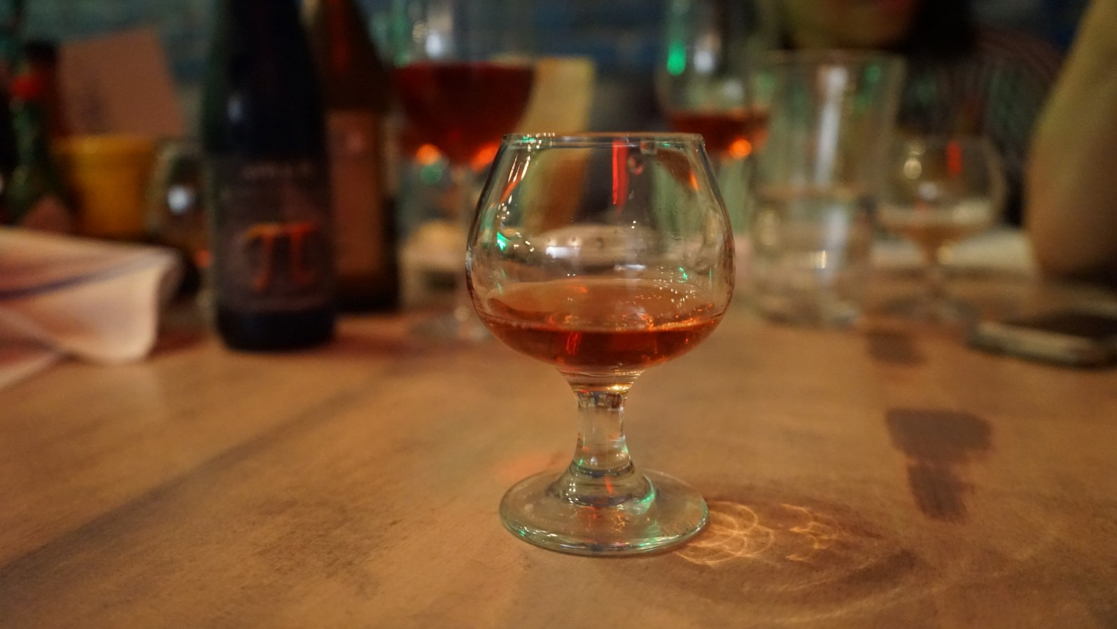 Crafted Pollen Nation mead (Credit: Roshan Nebhrajani/The New Tropic)