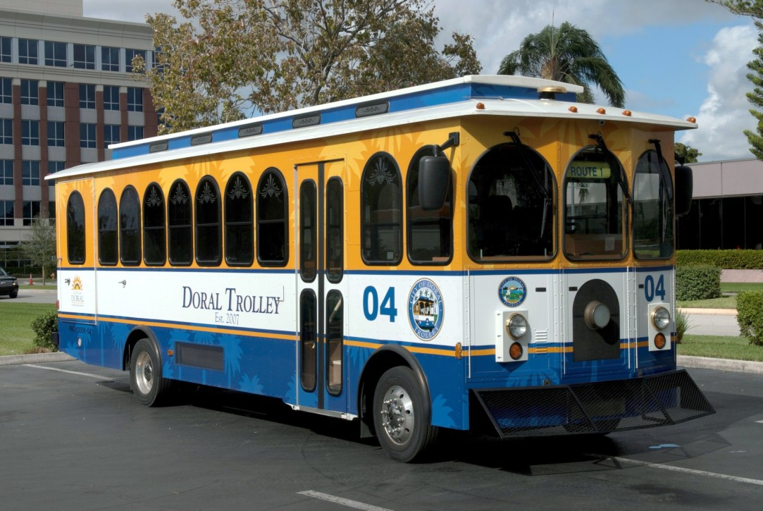 City of Doral trolley