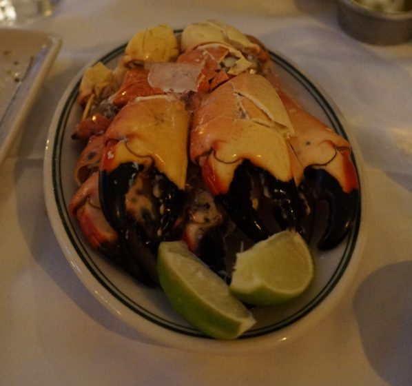 Stone crabs (Credit: Roshan Nebhrajani/The New Tropic)