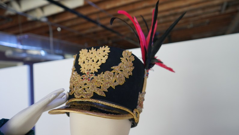 The headpiece on a costume for Stars and Stripes.(Credit: Roshan Nebhrajani/The New Tropic)