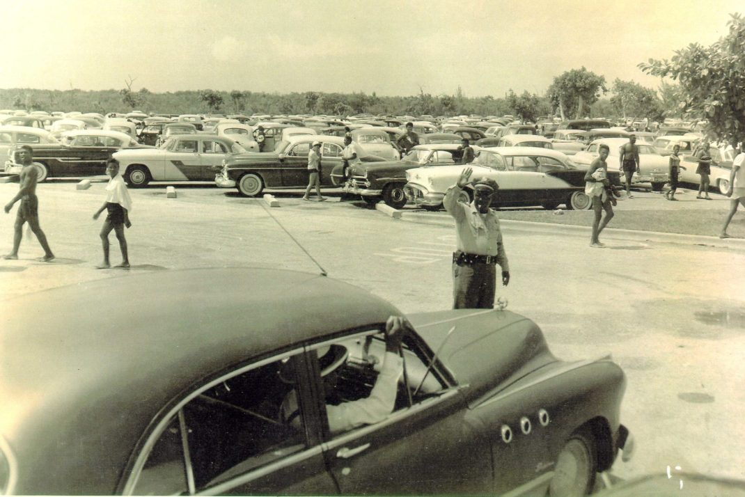 A fill parking lot. (Courtesy of the Historic Virginia Key Beach Trust)