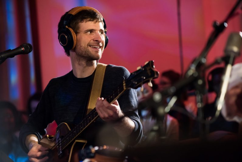 Michael League, the leader of Snarky Puppy (Courtesy of GroundUP Music Festival)