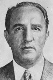 A head shot of Vincent Alo, a member of the Genovese Family of the New York Mafia