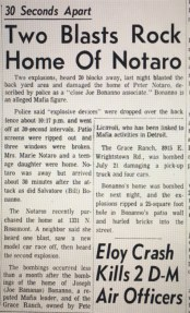 The FBI also bombed soldier Pete Notaro