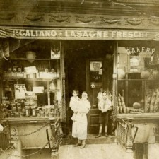 A combination bakery and fresh macaroni store...P. Galiano Fresh Lasagne Shop