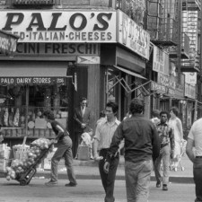 Di Palo's Cheese shop. This iconic Italian specialty store sits at the corner of Grand and Mulberry Streets in the very heart of New York's Little Italy. They are artisans who have been making the finest in homemade Ricotta, Mozzarella, and other hard and soft cheeses since before I was born (and I'm an old guy) Lol...they are one of the last remaining vestiges of a lost New York gem - the largest and most important Little Italy in America.