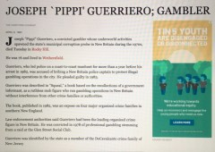Guerriero bribed the local police