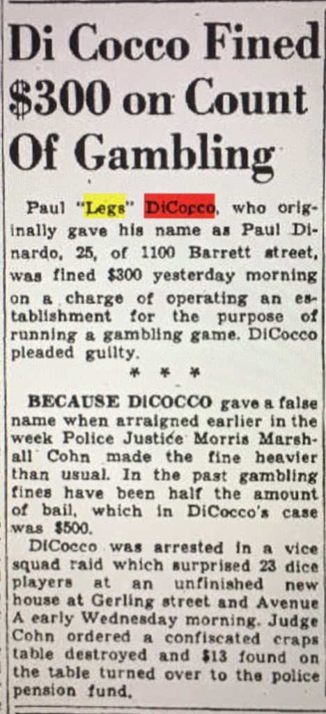 Paul Di Cocco pleads out