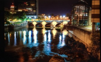 Genesee River - Downtown Aquaduct