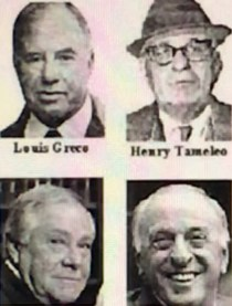Barboza wrongly convicted (clock wise from top L) Louis Greco, Henry Tameleo, Joseph Salvati, Peter Limone
