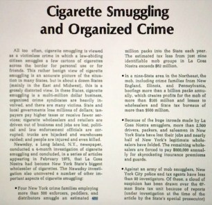 Butt-Smuggling was big business!