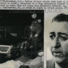 Soldier Louie (The Fox) Taglianetti after he fell afoul of the boss.