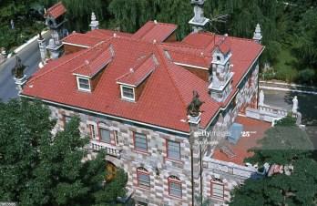 Aerial view of the Boiardo estate