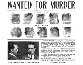 Frasca's wanted poster