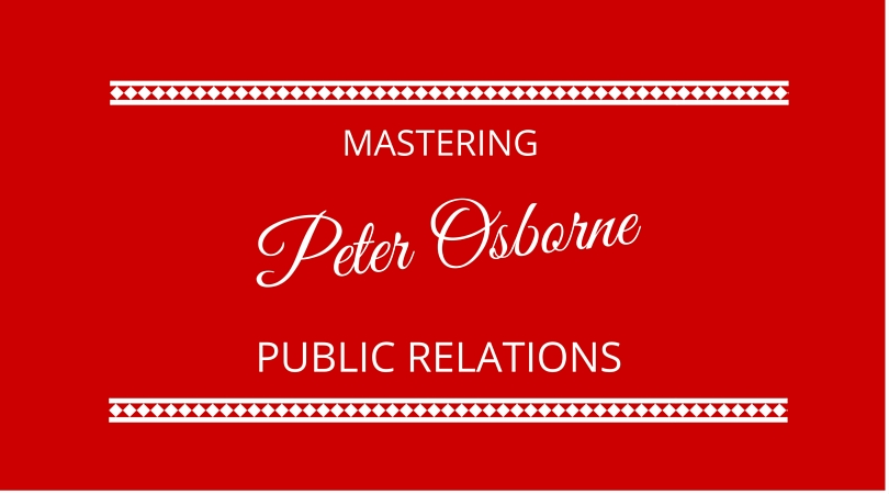 #10 Mastering Public Relations with Peter Osborne