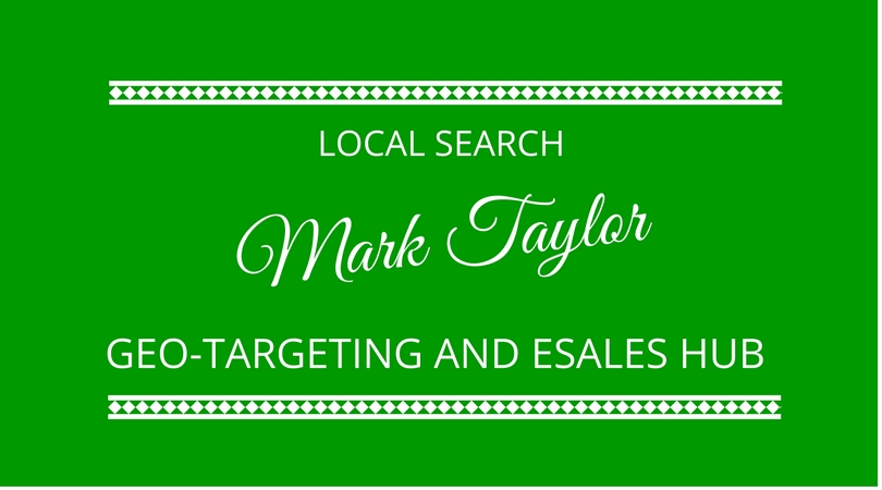 #60 Local Search and eSales Hub with Mark Taylor