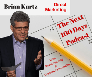 The Advertising Solution and Direct Marketing with Brian Kurtz - The Next 100 Days Podcast