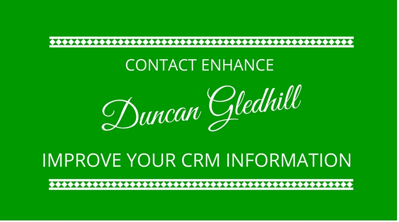 #68 Contact Enhance with Duncan Gledhill