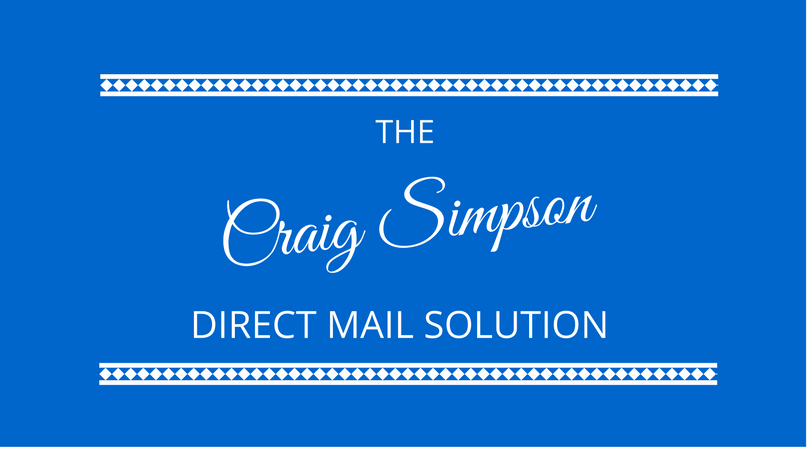 The Direct Mail Solution with Craig Simpson