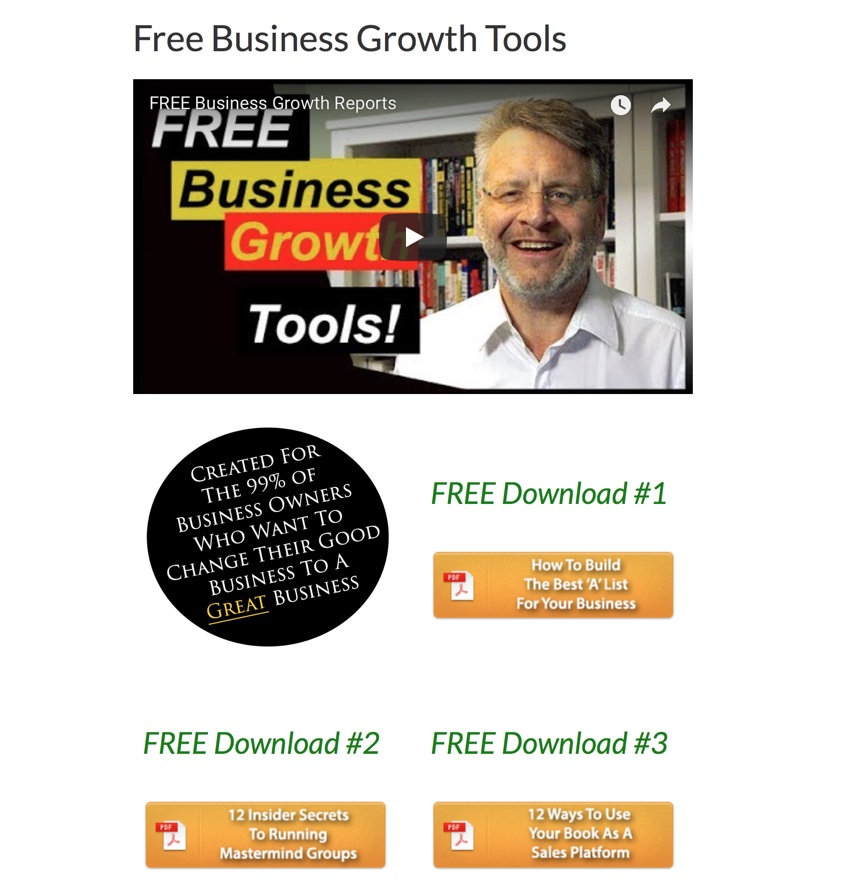 free reports, David White Consulting, downloads