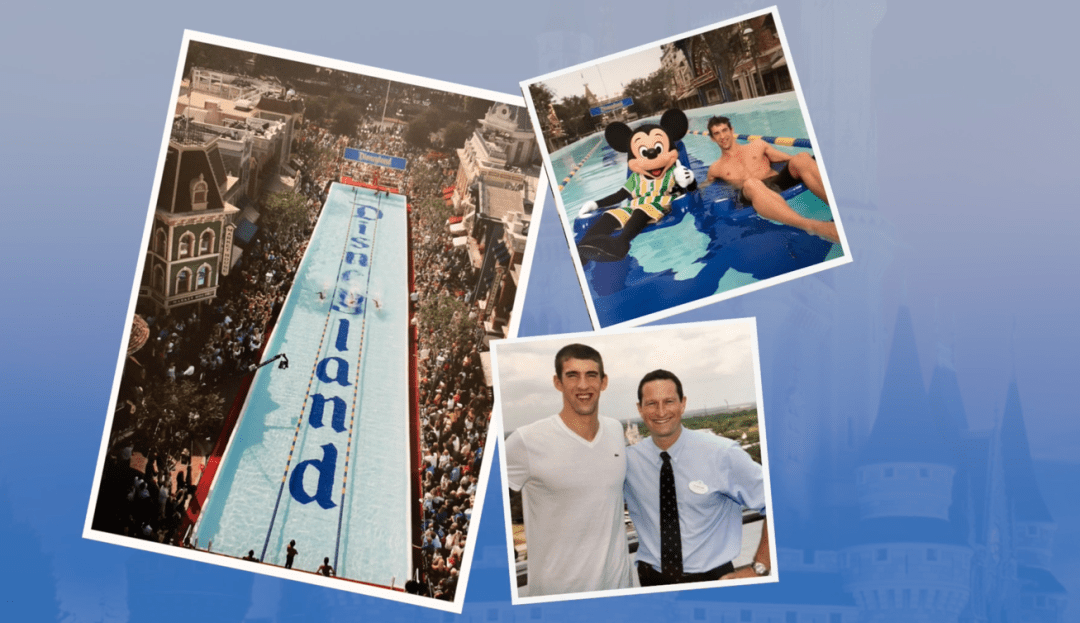 Michael Phelps, Disneyland, Duncan Wardle, PR, Creative, The Next 100 Days Podcast