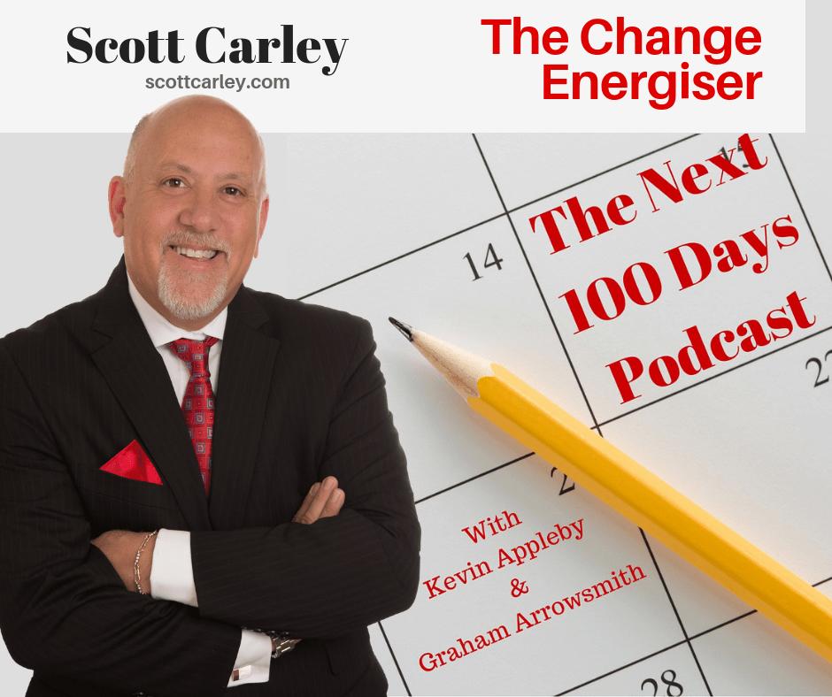 Broken Teams, Energising Broken Teams, Scott Carley, The Next 100 Days Podcast