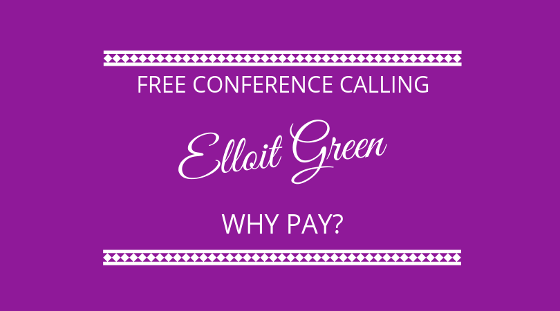 Why Pay? Free conference calling with Elliot Green from Whypay and Wonderful.