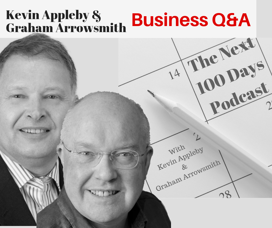 graham Arrowsmith, Kevin Appleby, Business Q&A, Finely Fettled, Partially Addressed Advertising Mail, Affluent Over 50s