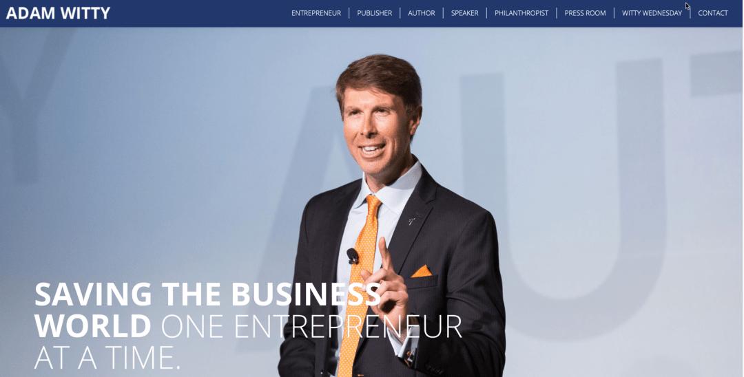 Adam Witty, Author, Authority Marketing, The Next 100 Days Podcast
