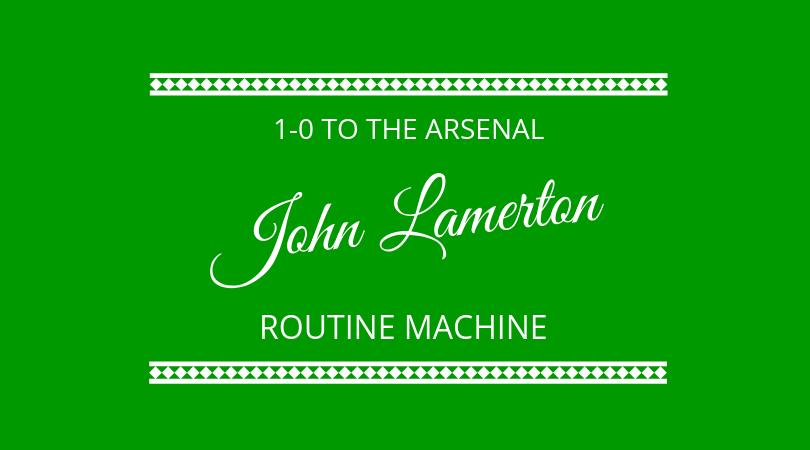 #187 John Lamerton – Routine Machine