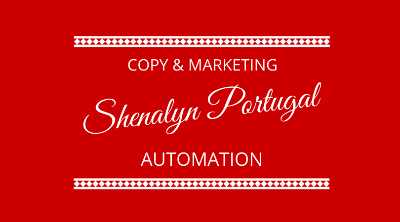 Copy & Marketing automation with Shenalyn Portugal