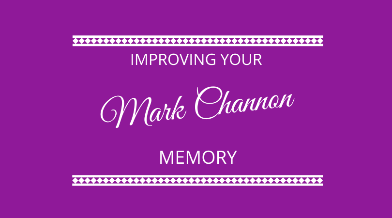 #261 – Mark Channon – Memory