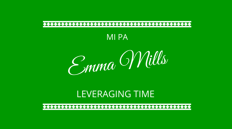 Leveraging time. Emma Mills from Mi PA joins Graham Arrowsmith and Kevin Appleby on The Next 100 Days Podcast