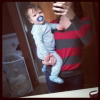 Day in the life of an 11-month-old (and his working mom)