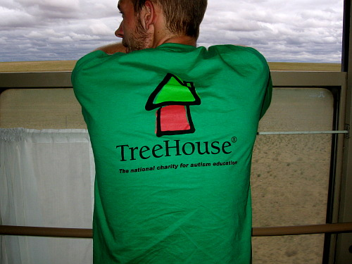 TreeHouse t-shirt, Trans-Siberian Railway, the Gobi Desert