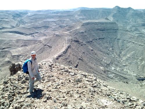 Walking in the Dhofar Mountains