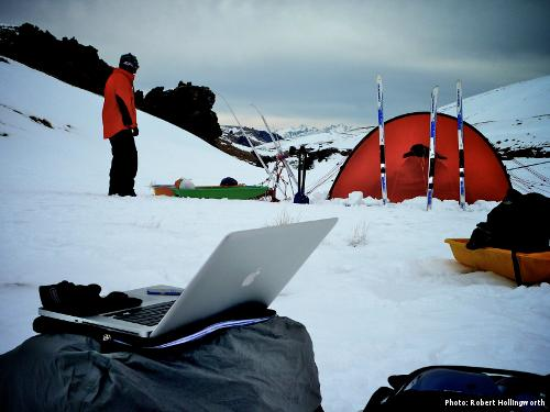An expedition but no one's blogging (Photo: Robert Hollingworth)