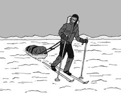 How To Get To The South Pole (Illustration: www.jimshannon.net)