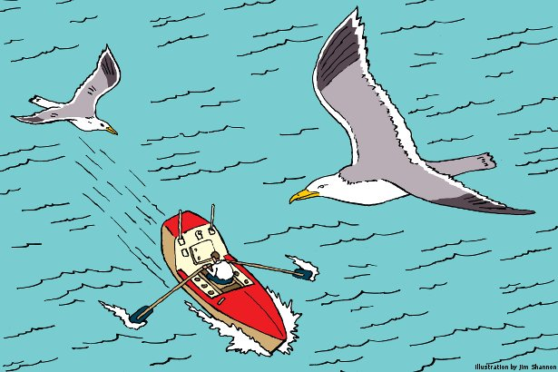 How to Row an Ocean (Illustration by Jim Shannon)