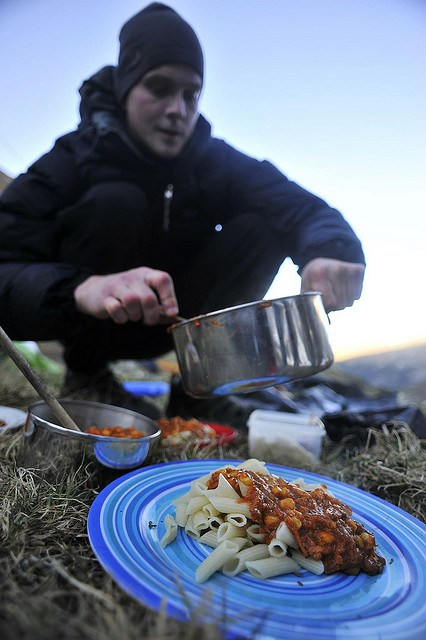 Dinner in the Altai