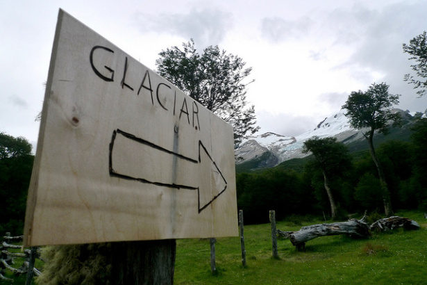 This Way to the Glacier