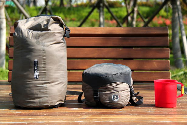 Small Exped Waterproof Compression Bag
