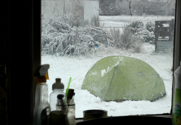 snowytent