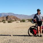 Cycling in Mojave Desert