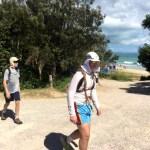 Crossing Stradbroke Island
