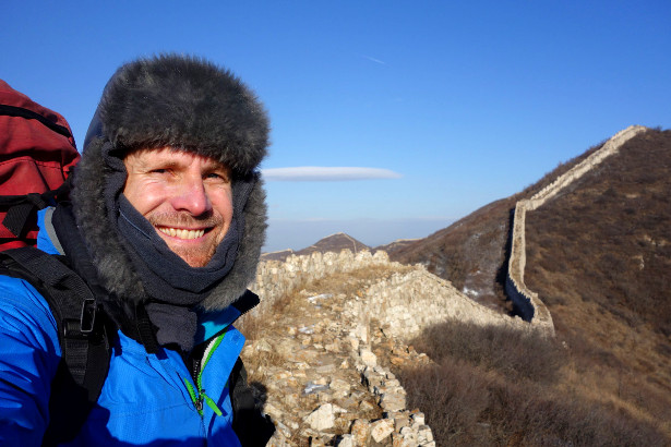 Richard Fairbrother - Walking the Great Wall in Winter