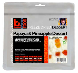 Dehydrated Expedition Rations - BeWell Extreme Adventure Food