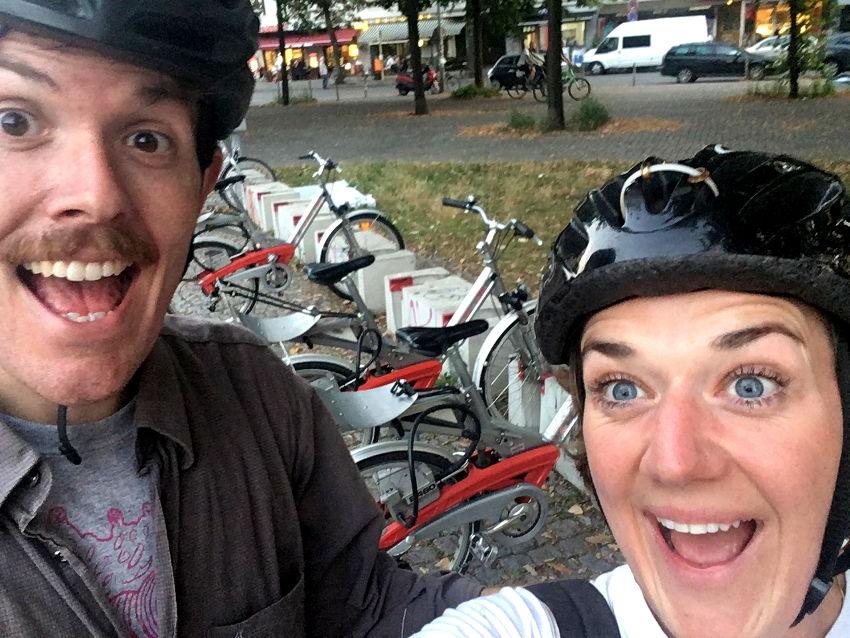 Cycling the Berlin Wall