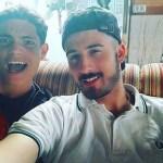 Dani and Fernando - Tandem Camindo de Santiago